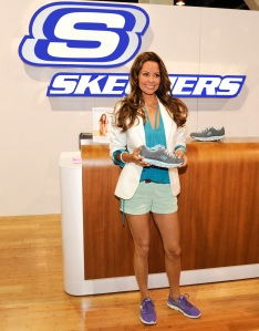 Learn more about Brooke Burke's shoes at SKECHERS.com!