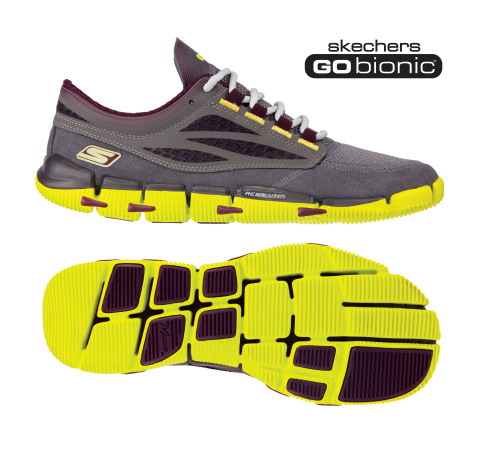 skechers running shoes. skechers gobionic ultra-minimal running shoe (photo: business wire) shoes