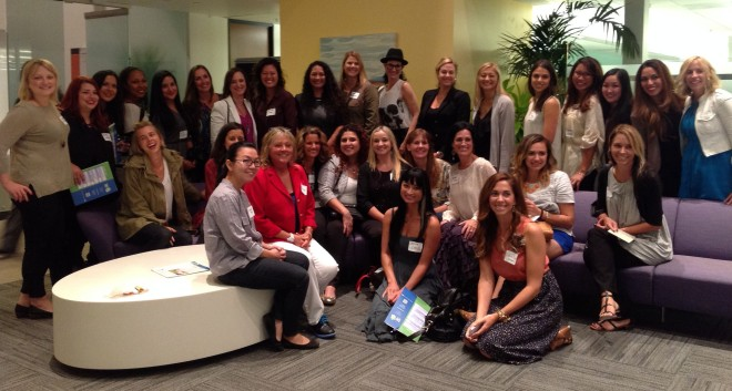 Skechers group at the Women In the Footwear Industry event
