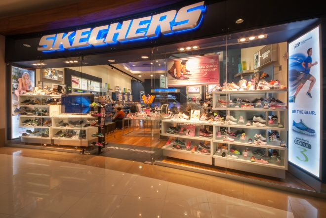 A recent Skechers store opened in Mexico.