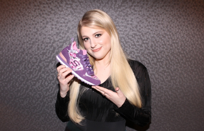 Meghan Trainor for Skechers