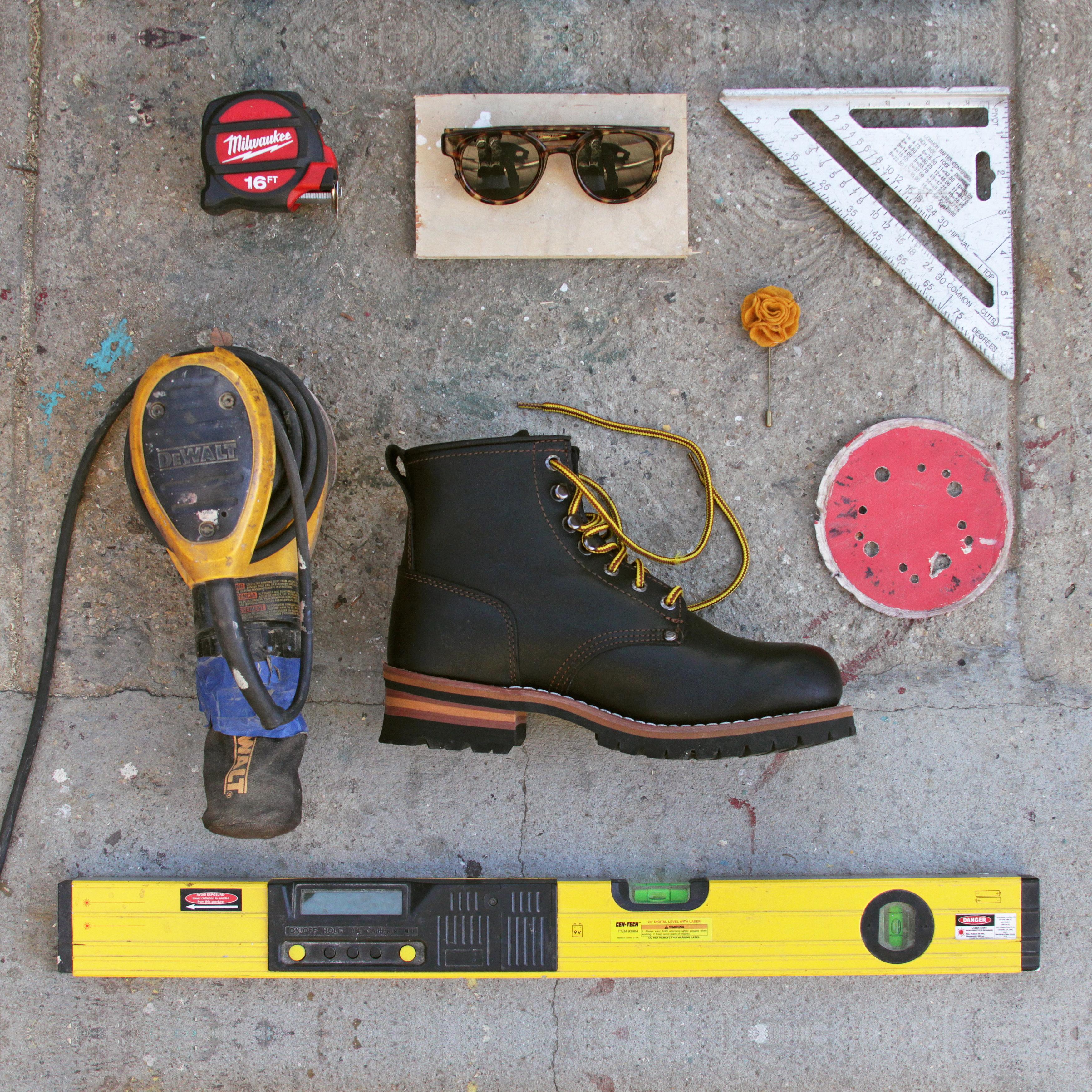 Botas De Trabajo Skechers Cascadas De Los Hombres eGmKsR7stI