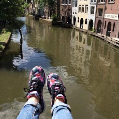 Style 12061 in Utrecht Oudegracht, Belgium